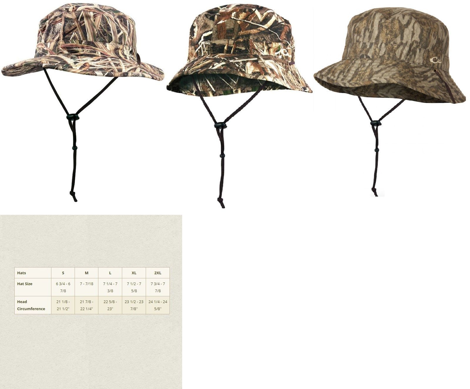 b299950621ebcb FROGG TOGGS NEW WATERPROOF/BREATHABLE BUCKET HAT-CRUSHABLE-HUNTING-OUTERWEAR  Men's Clothing