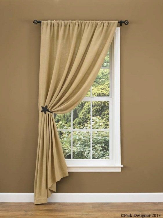 In Lace But I Love The Pulled To One Side Look Small Window Curtains Curtains Living Room Home