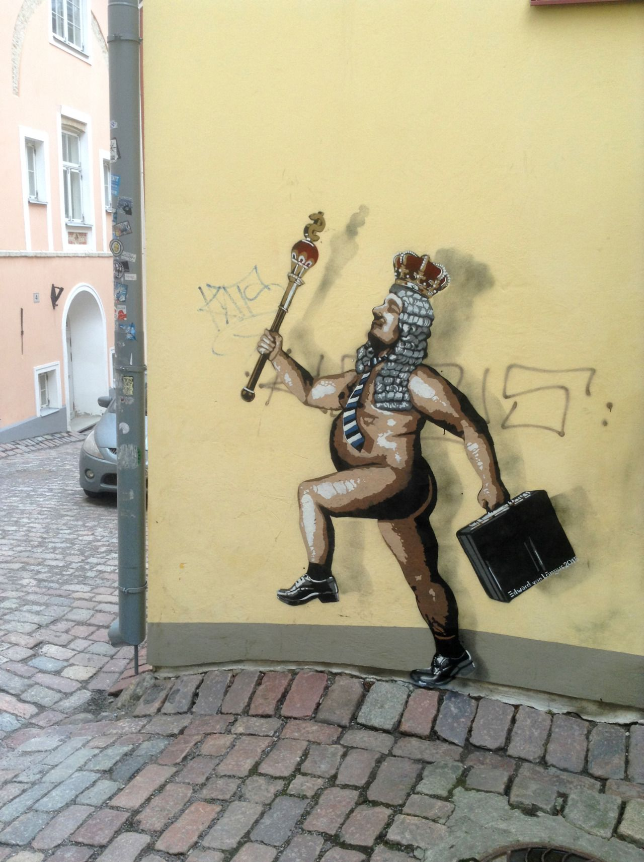 "The Naked Emperor"" by Edward von Lõngus in Tallinn, the capital of ..."