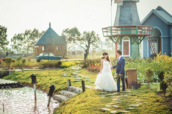 Phim trường Smiley Ville là một địa điểm chụp ảnh cưới đẹp và rộng ...
