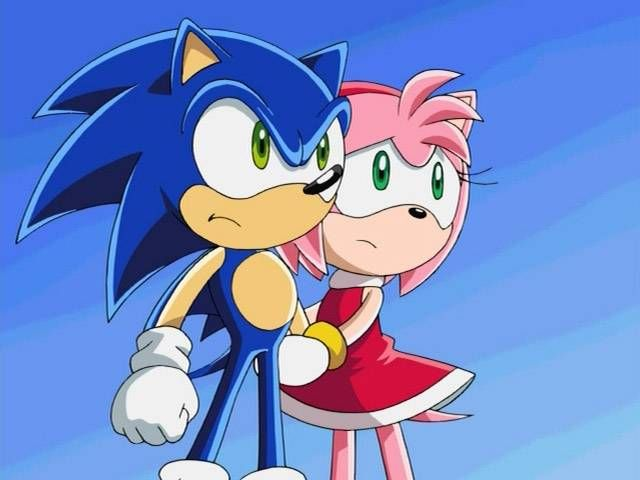 Amy Rose And Sonic Sonic X Dromfjf Top Sonic Sonic And Amy