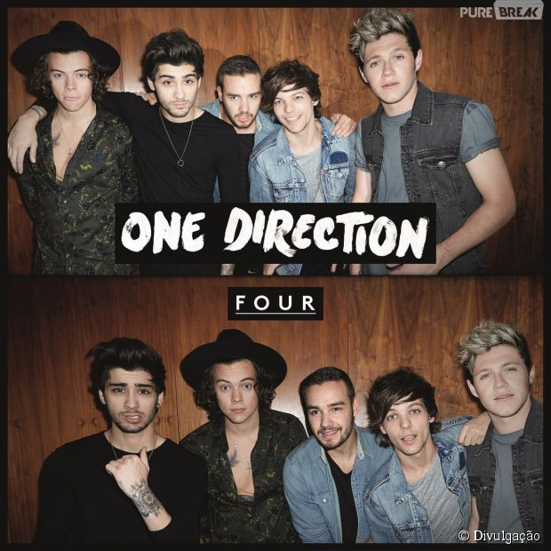 One Direction Ganha Disco De Platina Pelo Album Four Do Hit
