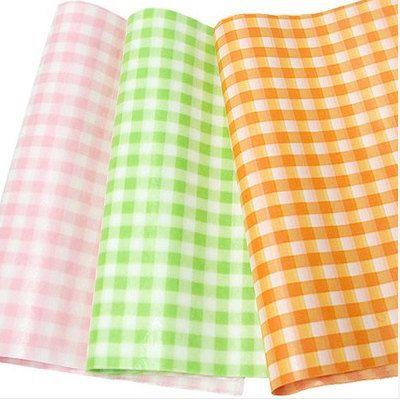 Green Check Wax Paper 25 sheets | Etsy | Wax paper ...