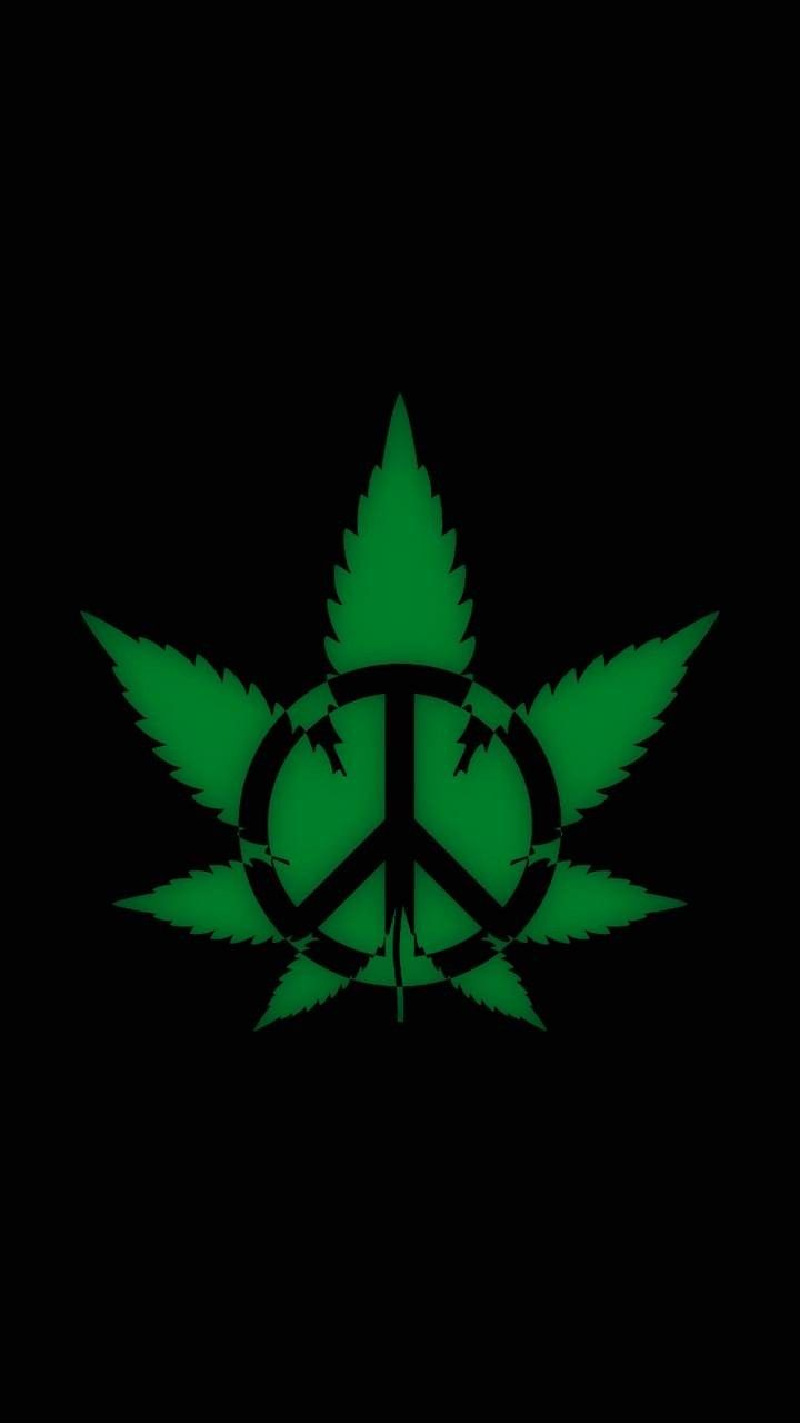 Weedpeace maryjane in 2019 Weed wallpaper, Cannabis