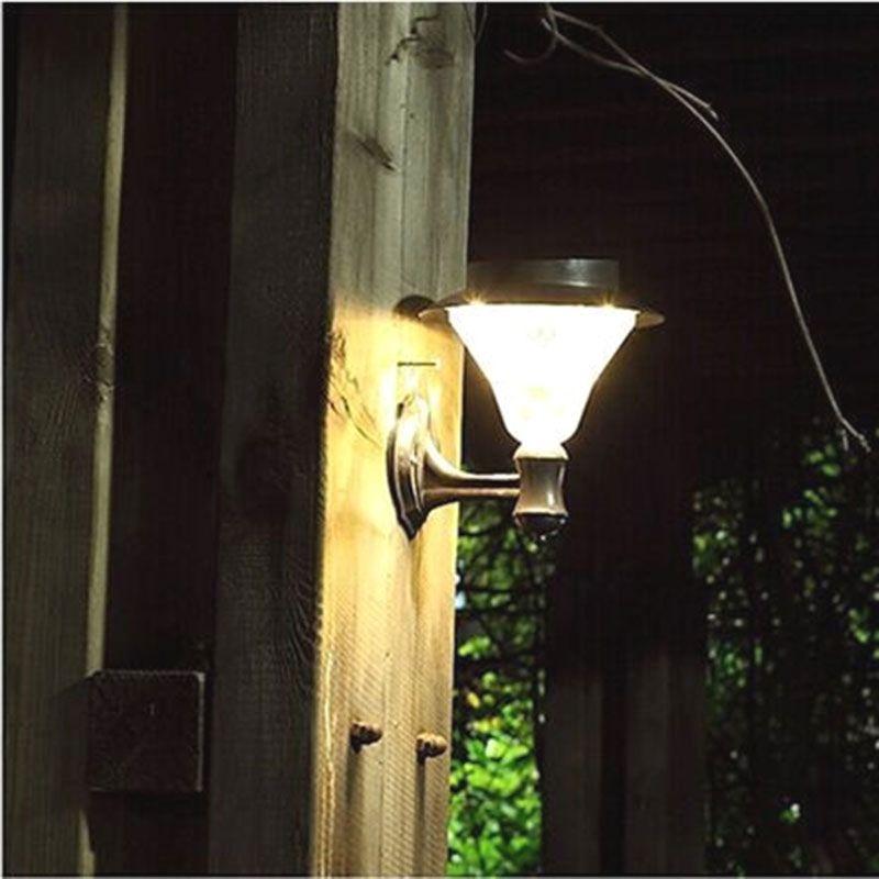 Solar Hardtop Gazebo Light Outdoor All Weather Mounted Retro Hang Lighting Kit