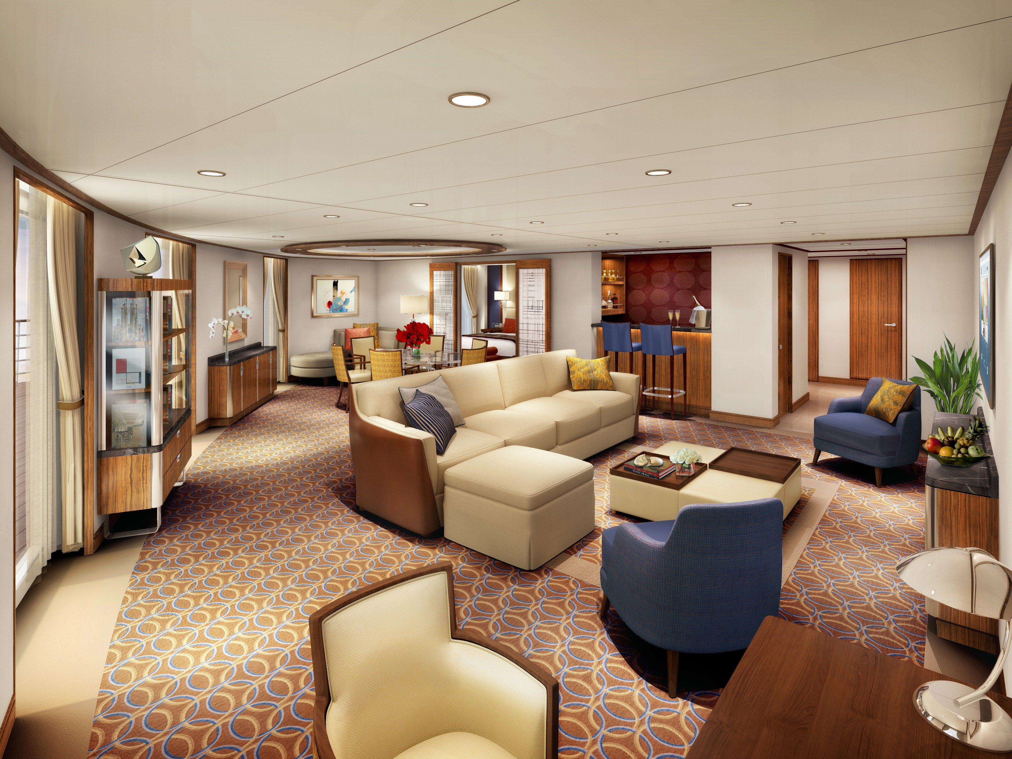 We Preview Seabourn S Newest Luxury Cruise Ship Encore Luxury Cruise Luxury Cruise Ship Luxury Design