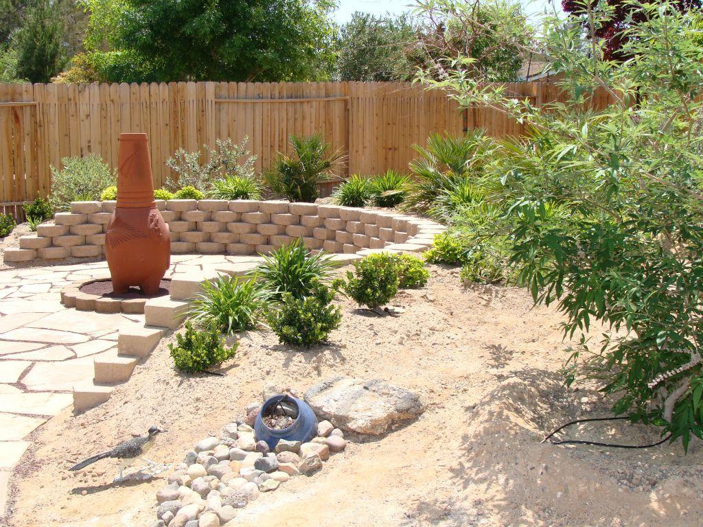 dry river bed desert garden design - Google Search ...