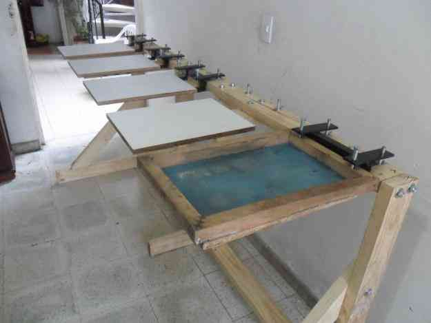Photo of Do-It-Yourself Screen printing Station  Would be