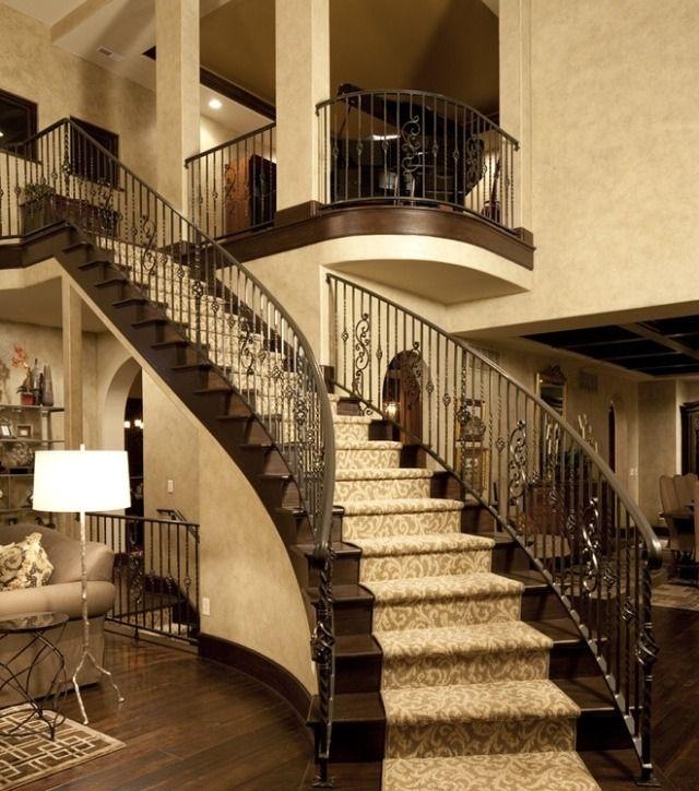 20 Excellent Traditional Staircases Design Ideas: Diseños - 10 Escaleras De Lujo