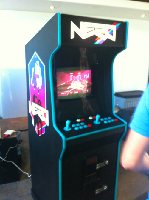 Old School Arcade Game by Hart Armstrong, via Behance
