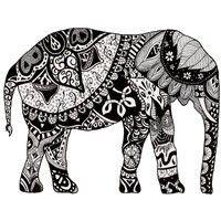 indien | kostenlose erwachsenen malvorlagen, elefant zeichnung und elefanten bilder