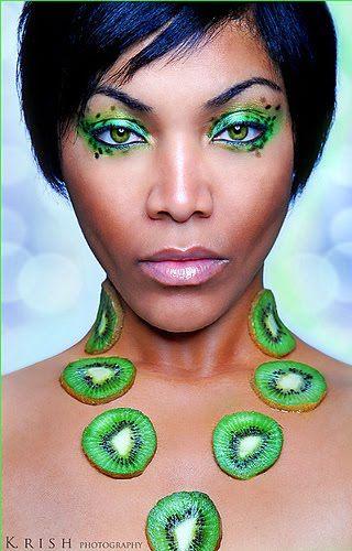 Kiwi #makeup