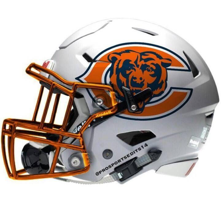 Prototype Helmet Chicago Bears Football Football Helmets Chicago Bears Helmet