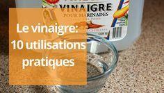 10 trucs à faire avec le vinaigre | Vinaigre, Truc a faire, Trucs et astuces