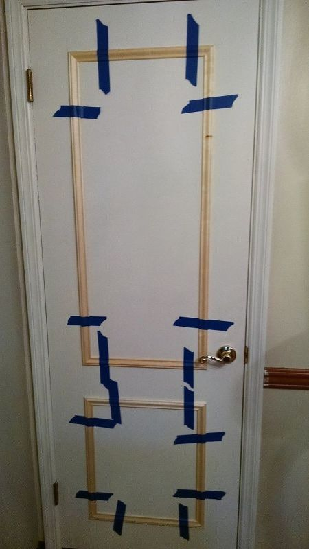 Photo of Faux Paneled Door