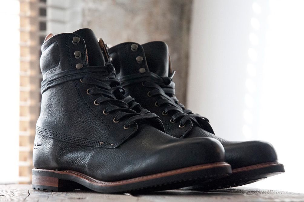Nike Men Boots Black Combat
