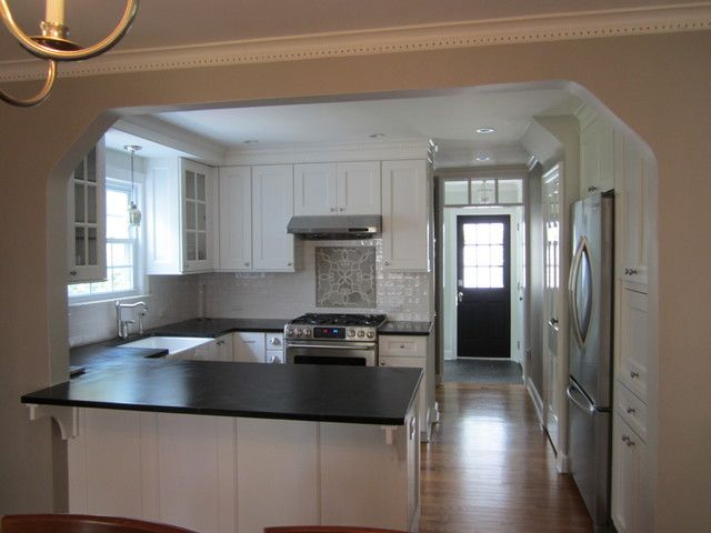 Show Me Your Remodel W 8 Ft Ceilings Kitchens Forum Gardenweb Kitchen Soffit Kitchen Remodel Kitchen Plans