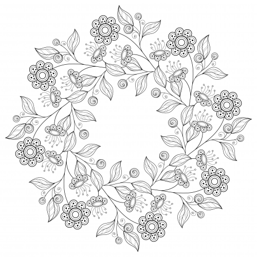 Premium Coloring Pages For Download Flower Coloring Pages Coloring Pages Book Flowers