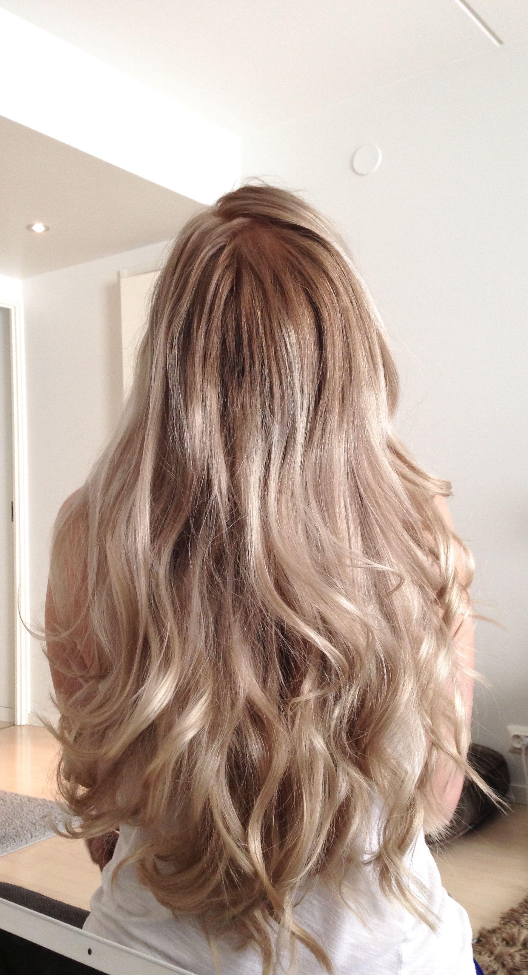 Ombré long blond hair beauty pinterest long blond hair long