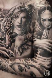 Photo of Tatouage du sein pour les hommes par Ivano Natale   Italie – tatouage – #chest #Ita … – Brea …