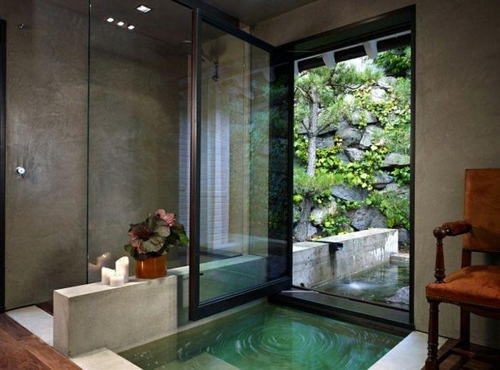 ▷ 1001 + idées pour créer une salle de bain nature Pinterest