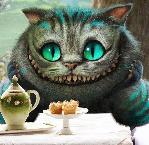 "Картинки кота из ""Алисы в Стране чудес"" (36 фото) ⭐ Юмор ..."