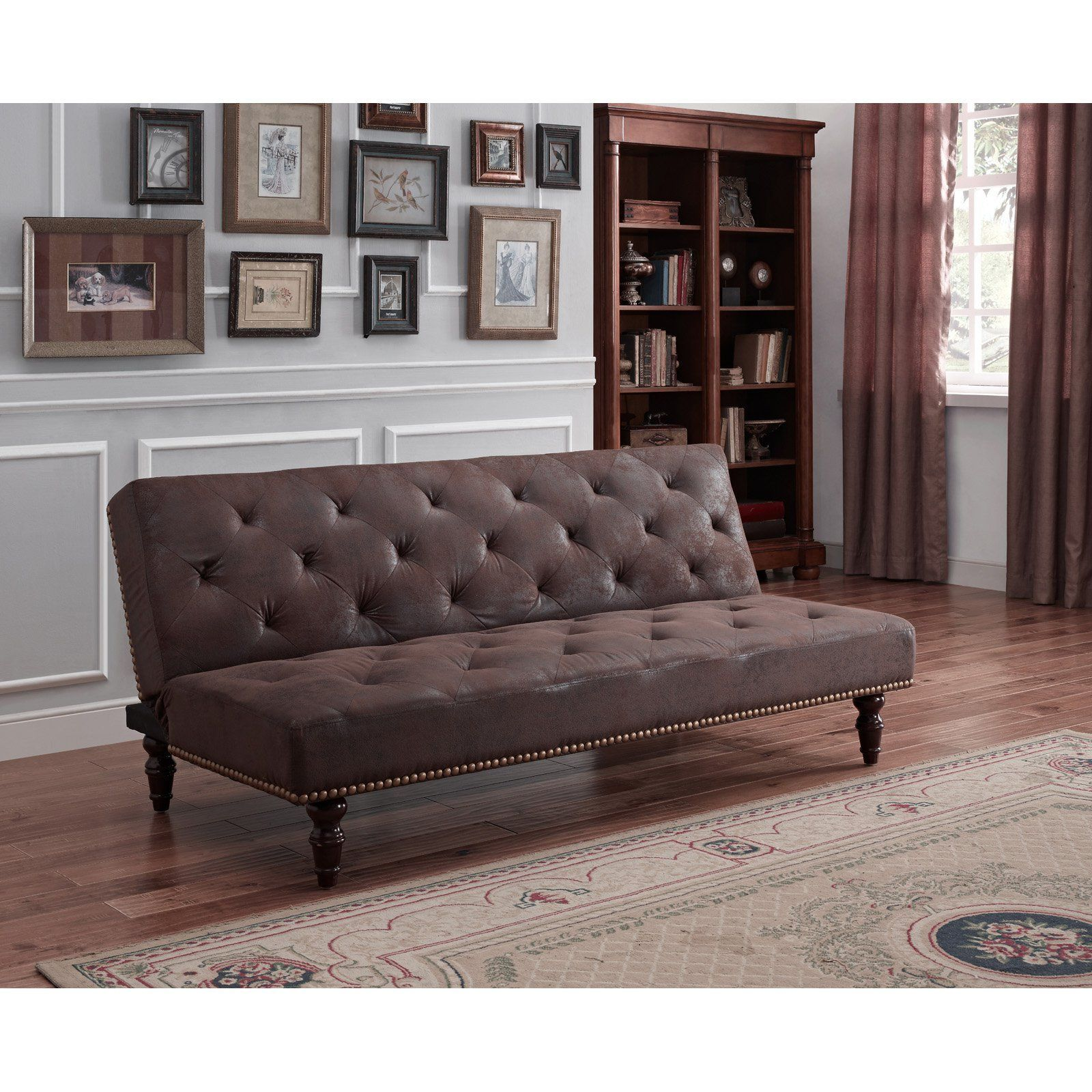 office futon. DHP Charleson Vintage Futon - Revamp Your Living Room Or Office With The . Brushed Microfiber Looks At First Like Distressed