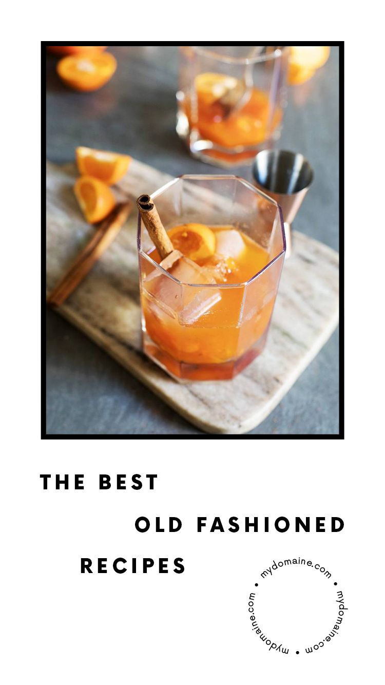 Drinks Cocktail Recipes Best Old Fashioned Recipe Recipes
