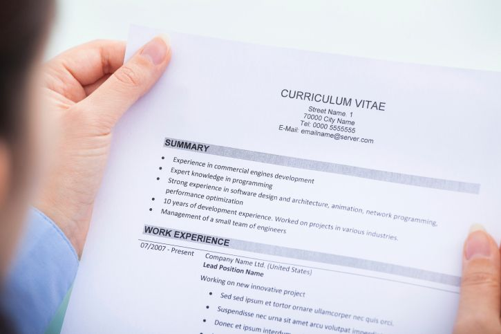 Steps To Making A Resume Interested In Making Your Cv More Than Just 'your Degree' Here Are .