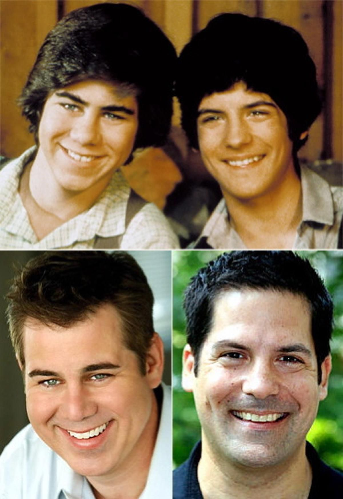 Patrick and Matthew Labyorteaux as Andy Garvey and Albert Quinn ...