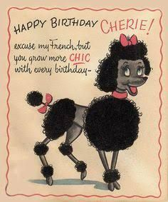 Image Result For Poodle Happy Birthday Cards Free