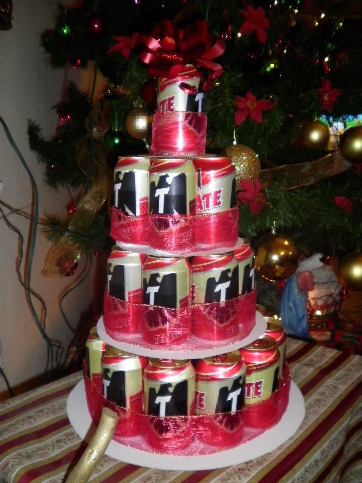 regalo de navidad para hombres con cerveza tecate christmas funny beer