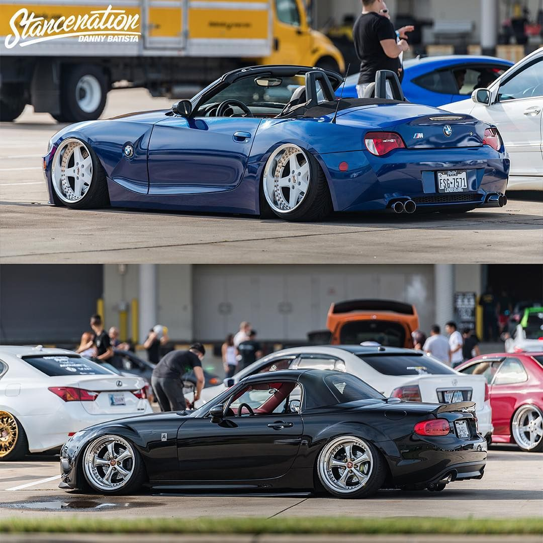 Bmw Z3 Classic Car: BMW Z4 Slammed Vs. Honda S2000