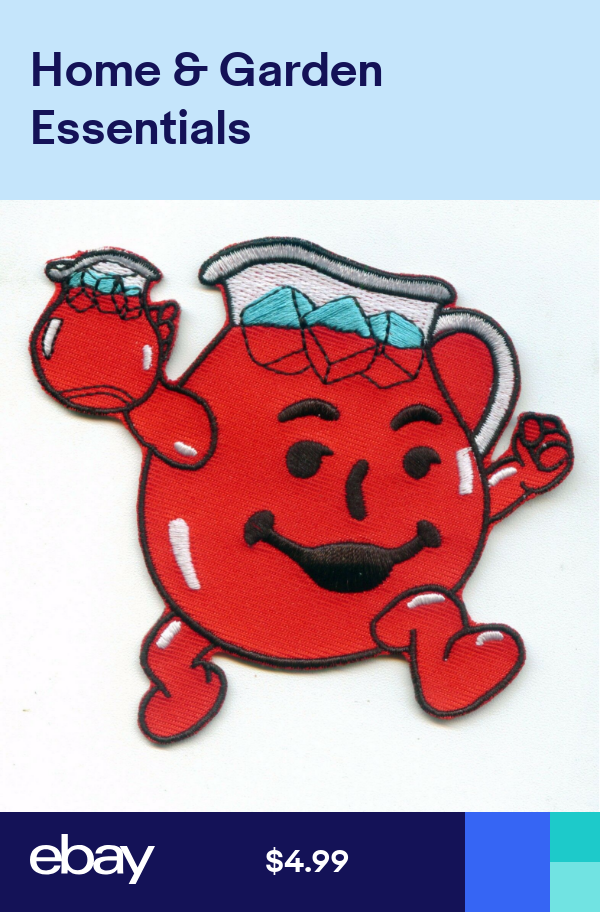 Patches Crafts Ebay Kool Aid Man Kool Aid Pin And Patches