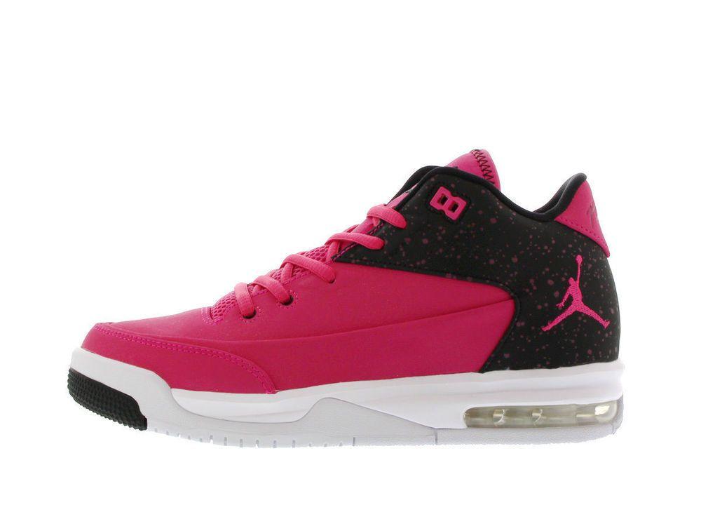 vari tipi di stili di moda prese di fabbrica NIKE JORDAN FLIGHT ORIGIN 3 Womens 9 (7.5Y) Pink Black 820250 600 ...