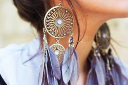 giant earrings! I really want these!