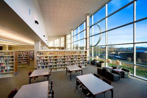 Library Design redding library designlpa inc. | modern libraries | pinterest