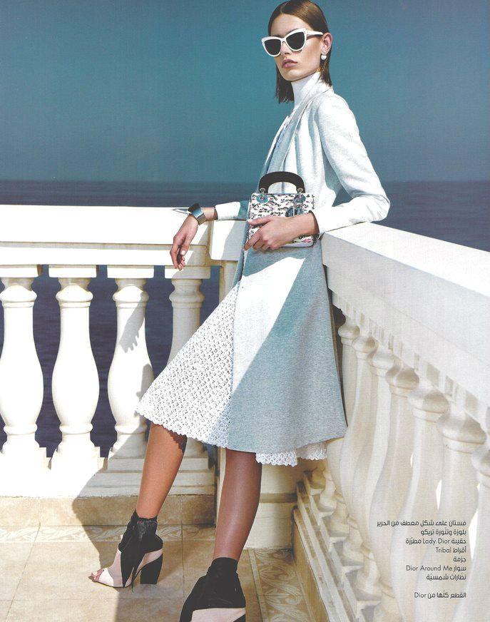 Marie Claire Arabia December 2014 | Paulina Kubac