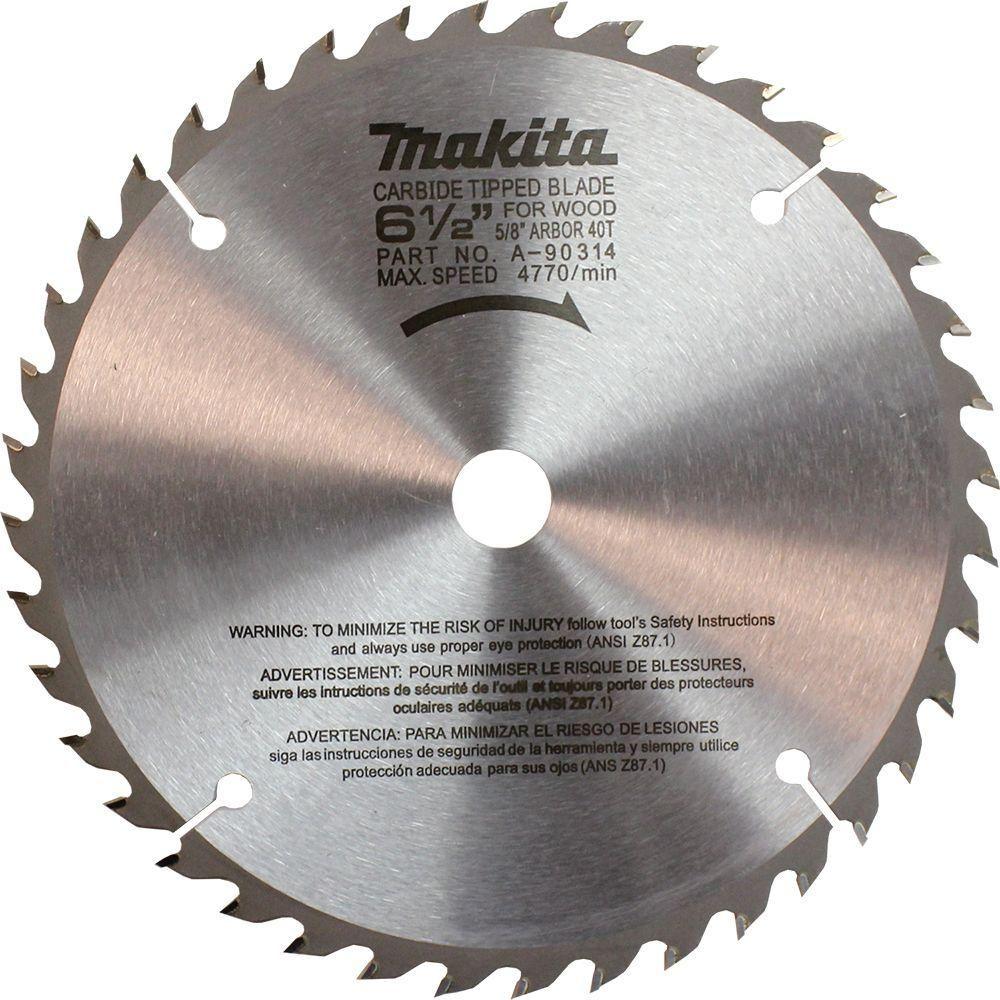 Makita 6 12 in 40 teeth carbide tipped circular saw blade blade makita 6 12 in 40 teeth carbide tipped circular saw greentooth Gallery