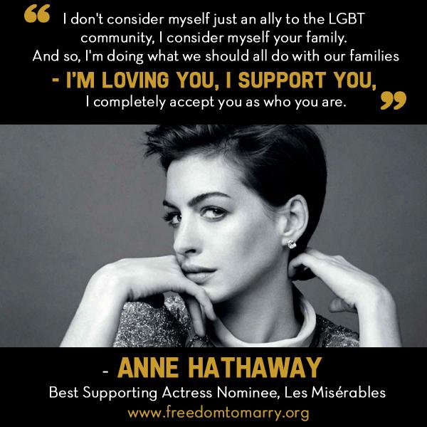 Oscar Winner Anne Hathaway
