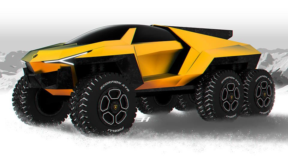 Lamborghini Raton Design Study Makes The Urus Seem Meek