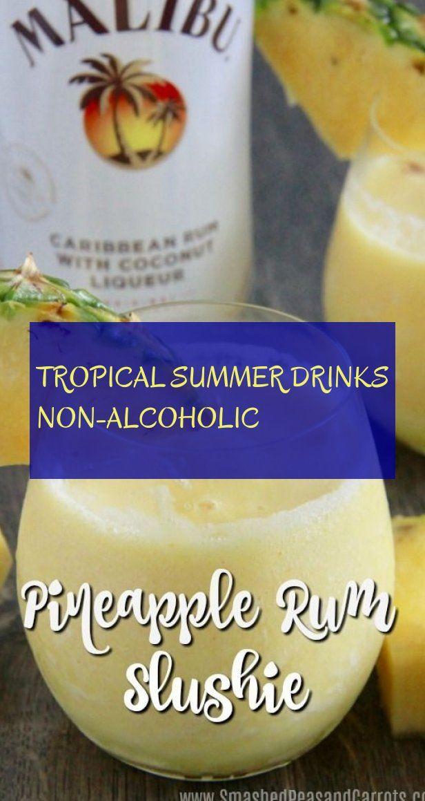 tropische sommergetränke alkoholfrei - #tropical #summer #drinks #nonalcoholic #nonalcoholicsummerdrinks