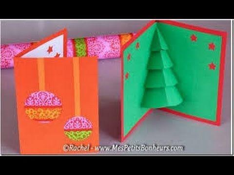 Como hacer Tarjeta de Navidad, Manualidades - YouTube Manualidades