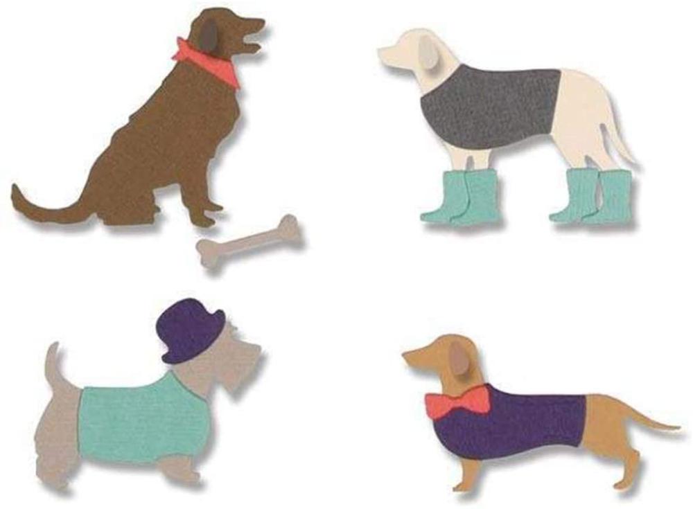 Dog Cat Stanzschablone Cutting dies Schablone Scrapbooking Prägen Albumkarte DIY