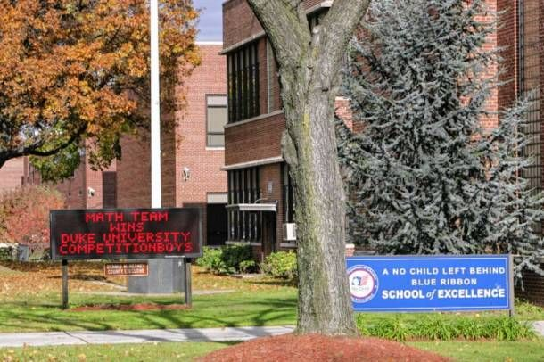 Bergen County Academies in Hackensack is a free public magnet high school  for Bergen County residents