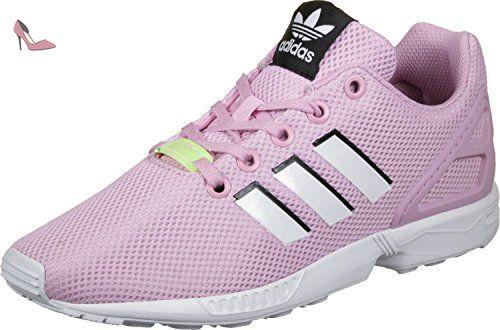adidas Zx Flux, Sneakers Basses Mixte Enfant, Rose (Frost