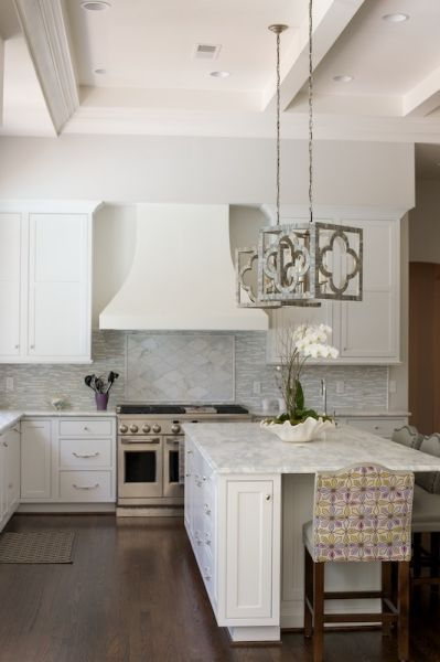 A Pair Of Gray Quatrefoil Lanterns Mr Brown Melissa Chandeliers Cool Chandelier Kitchen Decorating Inspiration