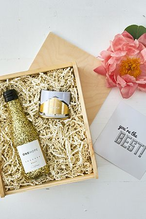 Gift For Her Best Friend Just Because Mini Crate Giftforher Giftsthatgive Giftguide Onehope