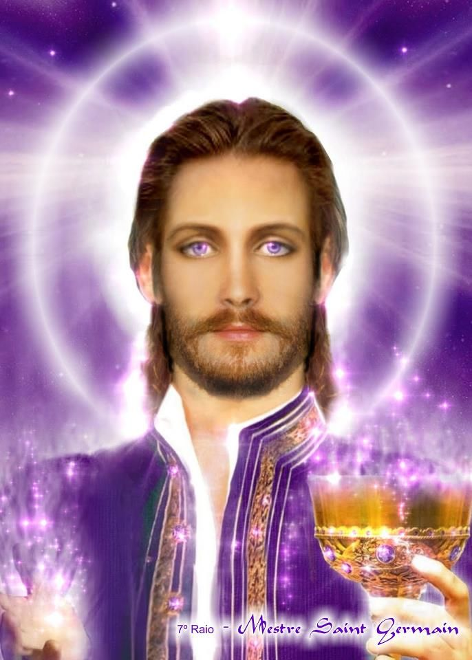 Master Saint German, Violet Flame / Brotherhood of light