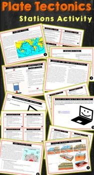 plate tectonics stations activity for high school earth science common core ideas earth. Black Bedroom Furniture Sets. Home Design Ideas